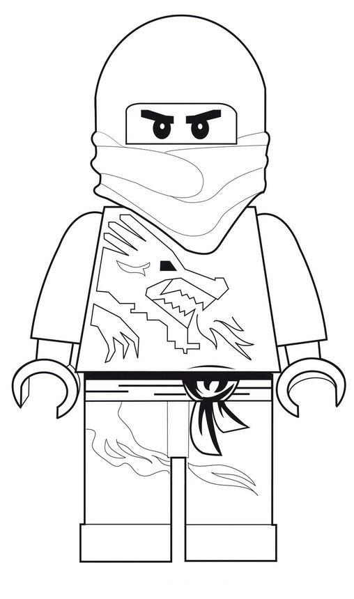 Kleurplaten Lego Ninjago Kai.Kleurplaten En Zo Kleurplaten Van Lego Ninjago