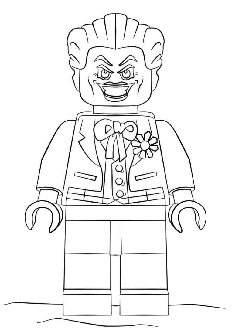 kleurplaten en zo u00bb Kleurplaten van lego batman film