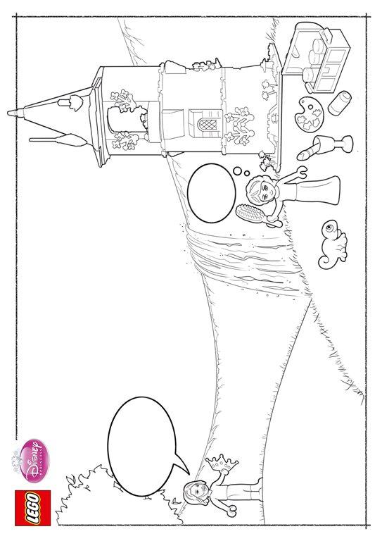 Kleurplaten Disney Prinsessen Rapunzel.Kleurplaten En Zo Kleurplaat Van Lego Disney Prinsessen