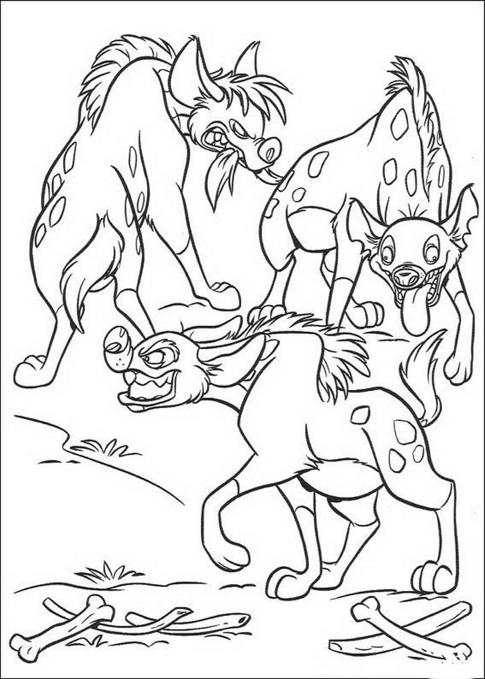 Kleurplaten En Zo Kleurplaten Van Lion King Of De