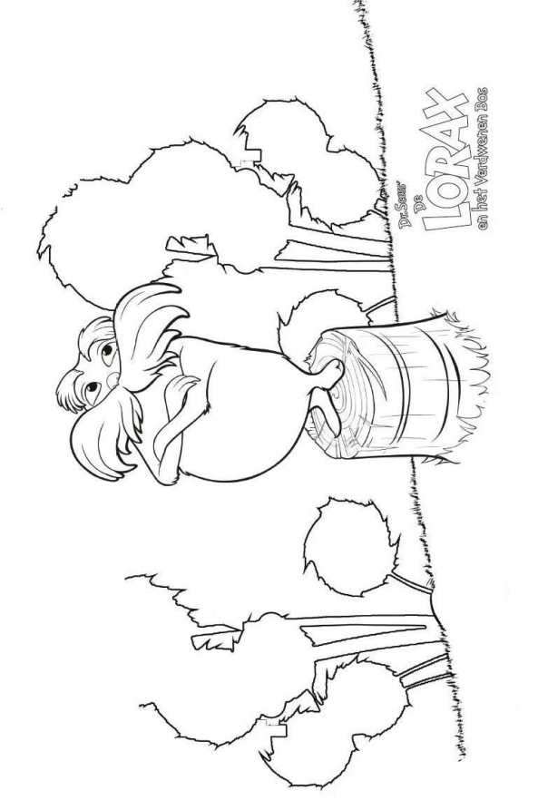 Humming Fish Lorax Coloring Pages Dr Seuss The Lorax Coloring Pages