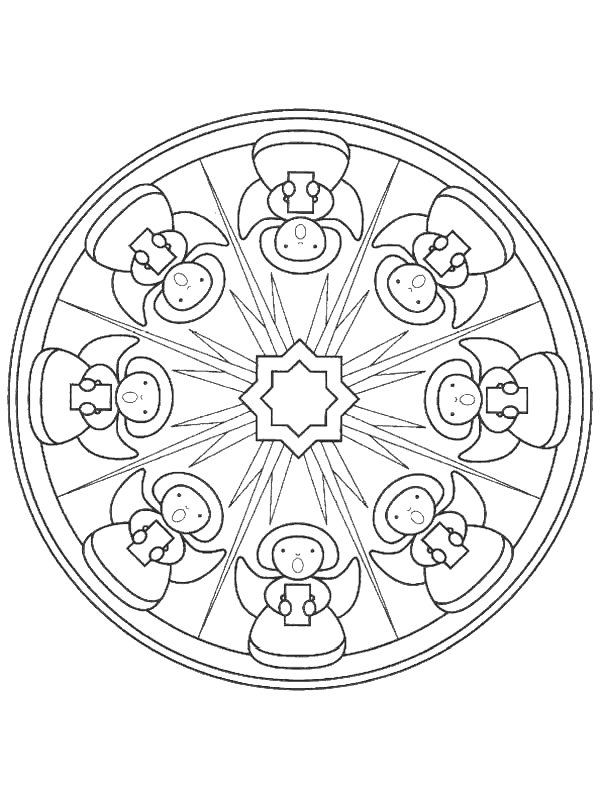 mazuras mandala coloring pages - photo#1