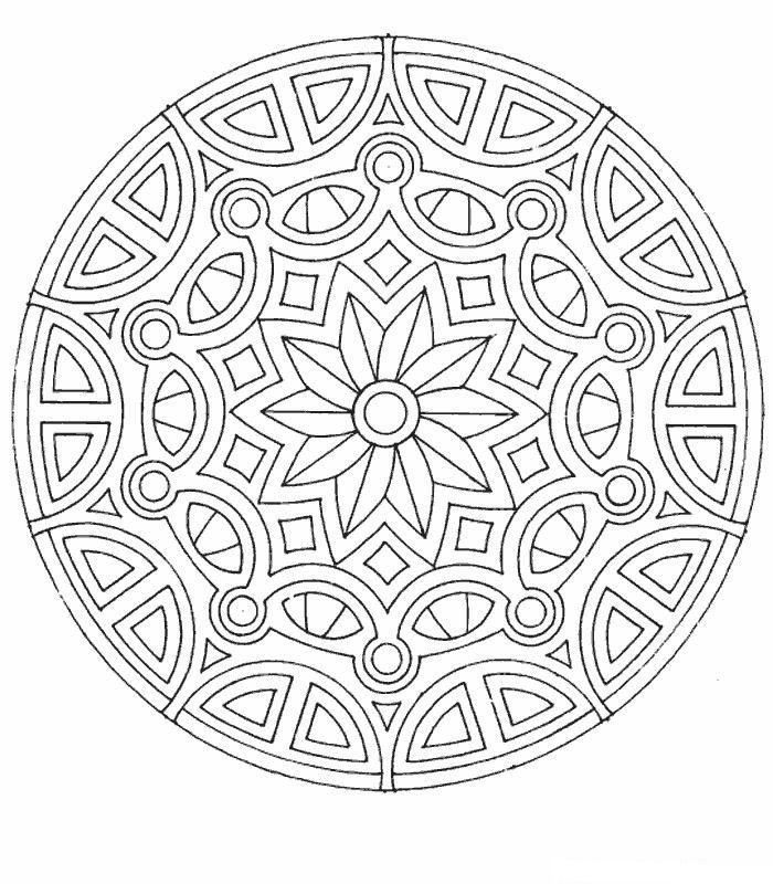 Kleurplaten Herfst Mandala.Kleurplaten En Zo Kleurplaten Van Mandala