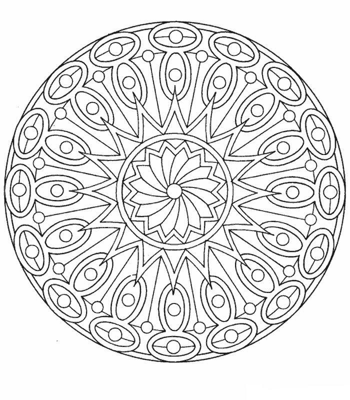 Mandala Kleurplaat Kleurplaten Printen.Kleurplaten En Zo Kleurplaten Van Mandala