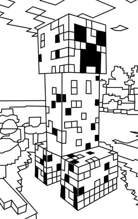 Kleurplaten Minecraft Paard.Kleurplaten En Zo Kleurplaat Van Minecraft