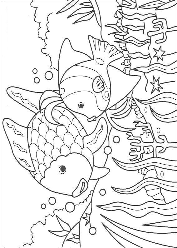 Kleurplaten Van Een Zee.Kleurplaten En Zo Kleurplaten Van Mooiste Vis Van De Zee