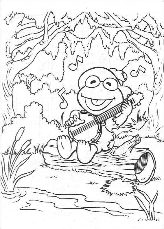 Kleurplaten En Zo 187 Kleurplaten Van Muppet Babies