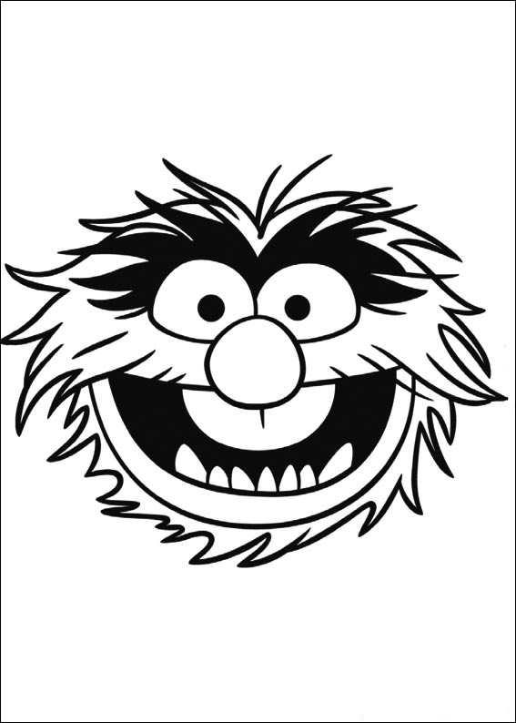 Kleurplaten Kermit De Kikker.Kleurplaten En Zo Kleurplaten Van Muppets