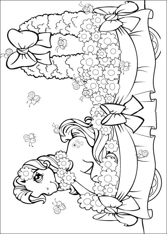 My Little Pony Kleurplaat Verjaardag Kleurplaten En Zo 187 Kleurplaten Van My Little Pony