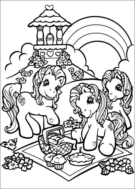 Kleurplaten En Zo Kleurplaat Van My Little Pony