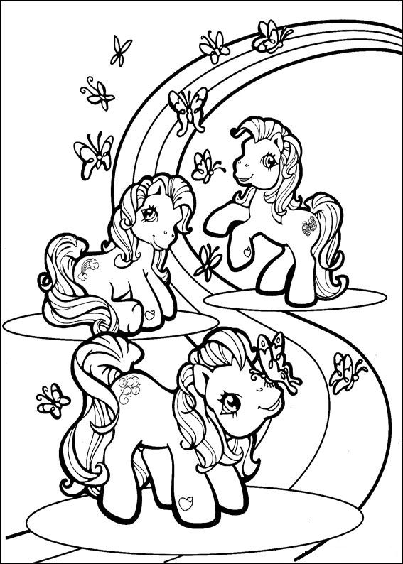 Print My Little Pony kleurplaat