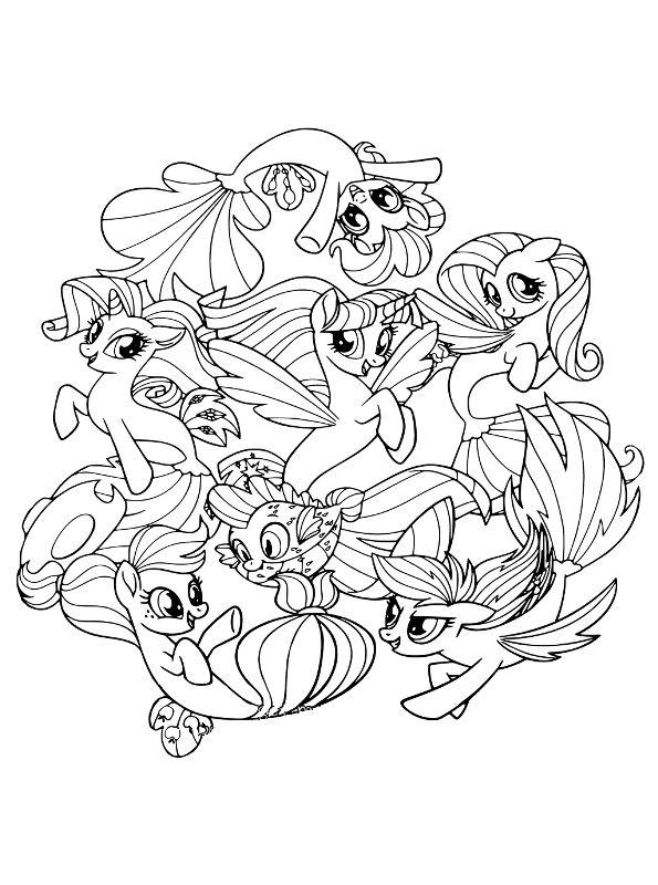 Kleurplaten My Little Pony Twilight Sparkle.Fluttershy Equestria Girls Kleurplaat