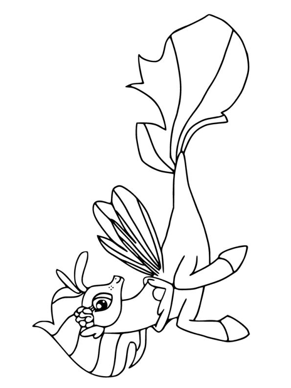 kleurplaten en zo » Kleurplaten van my little pony de film