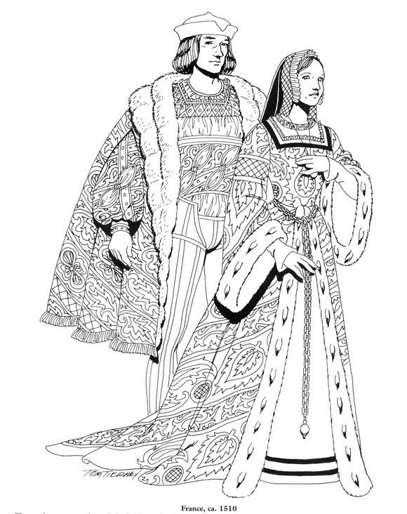 Kleurplaten En Zo Kleurplaat Van Frankrijk 1510
