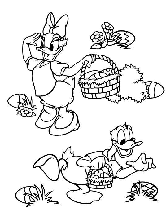 Kleurplaten En Zo Kleurplaten Van Pasen Met Disney