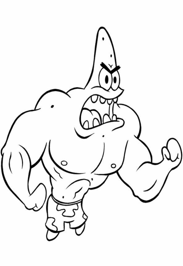 hood spongebob coloring pages - photo#39