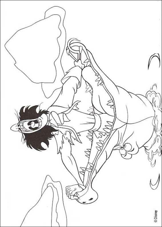 Kleurplaten Peter Pan En Tinkerbell.Kleurplaten En Zo Kleurplaten Van Peter Pan