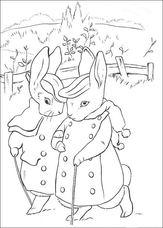 Konijn Kleurplaat Peter Rabbit Kleurplaten En Zo Kleurplaat Van
