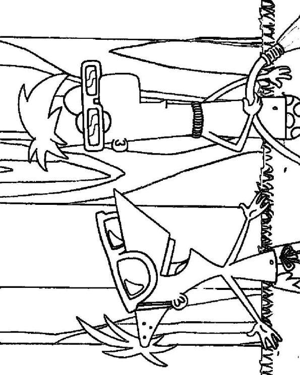 Kleurplaten Phineas Ferb Uitprinten.Kleurplaten En Zo Kleurplaten Van Phineas En Ferb
