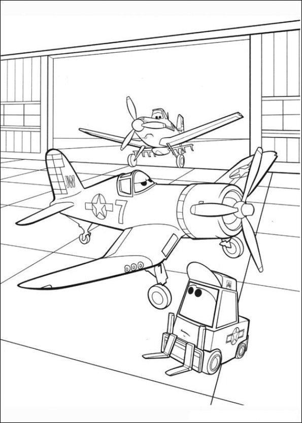 Kleurplaten Disney Planes.Kleurplaten En Zo Kleurplaat Van Planes