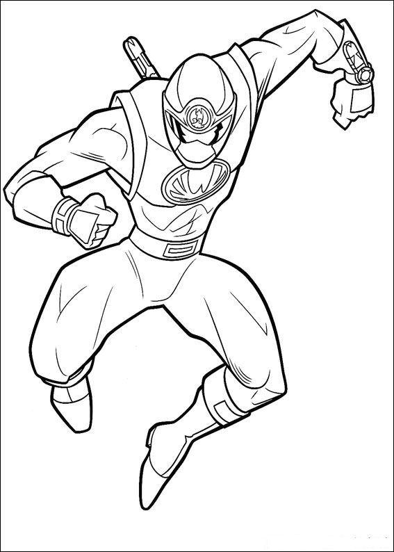 Kleurplaten En Zo Kleurplaat Van Power Rangers