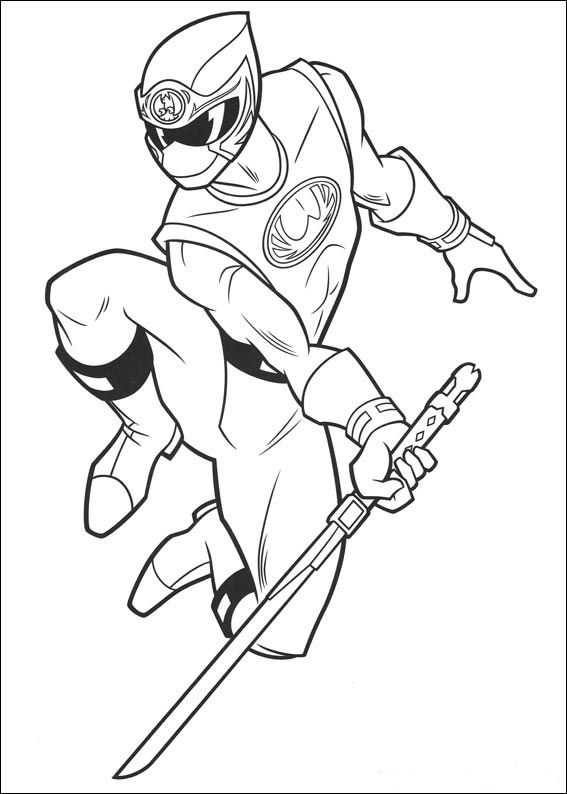 free coloring pages of power ranger mask
