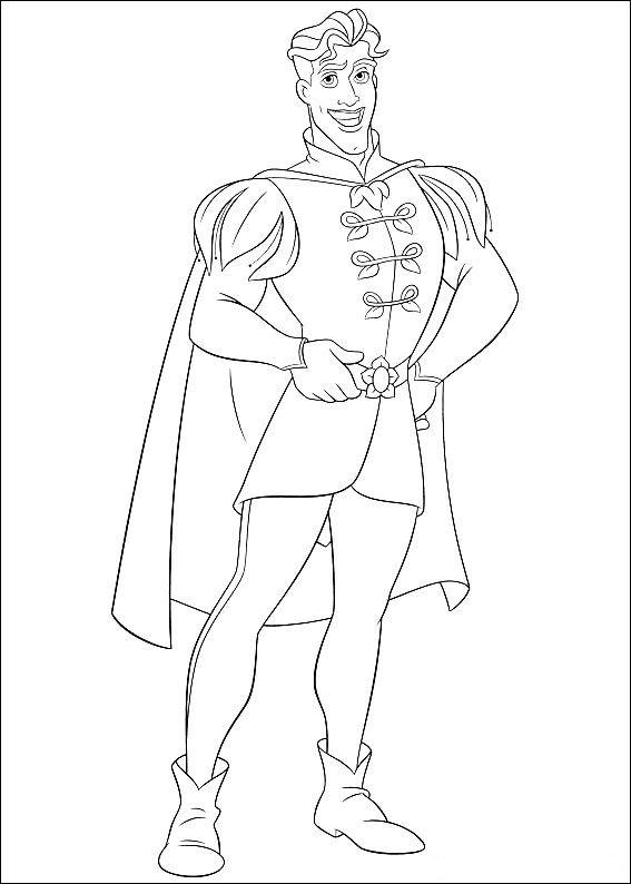 Kleurplaten Prinses Tiana.Kleurplaten En Zo Kleurplaten Van Prinses En De Kikker