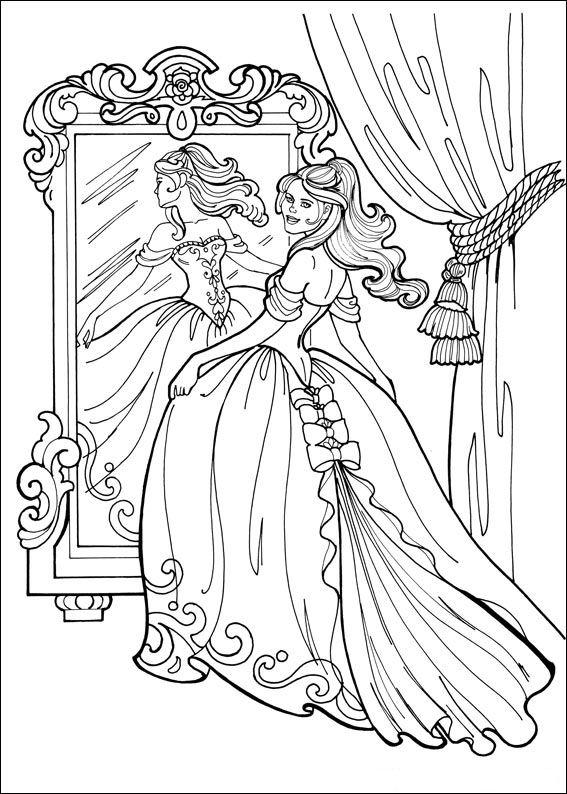 Print prinses leonora kleurplaat