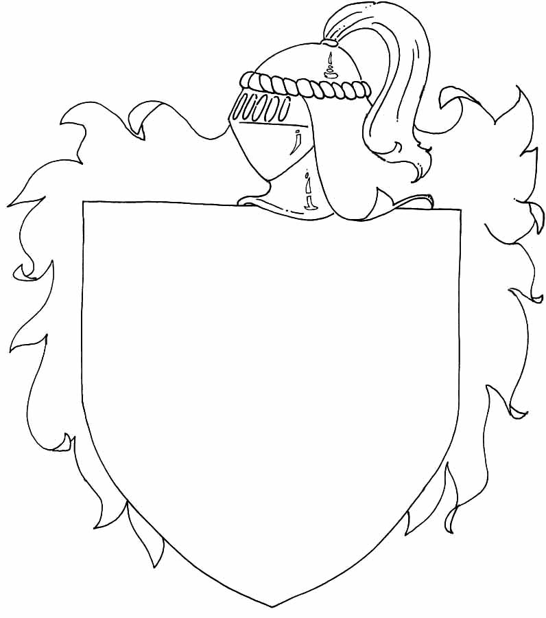kleurplaten en zo » Kleurplaten van ridders