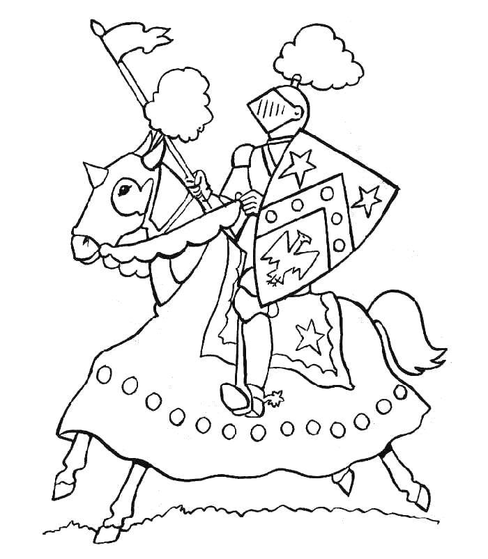 Kleurplaat Ridder Ideeen Over Kleurpagina S Voor Kinderen