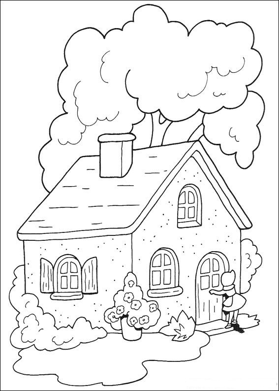 Little Red Riding Hood Characters Coloring Pages, Little Red Riding ...