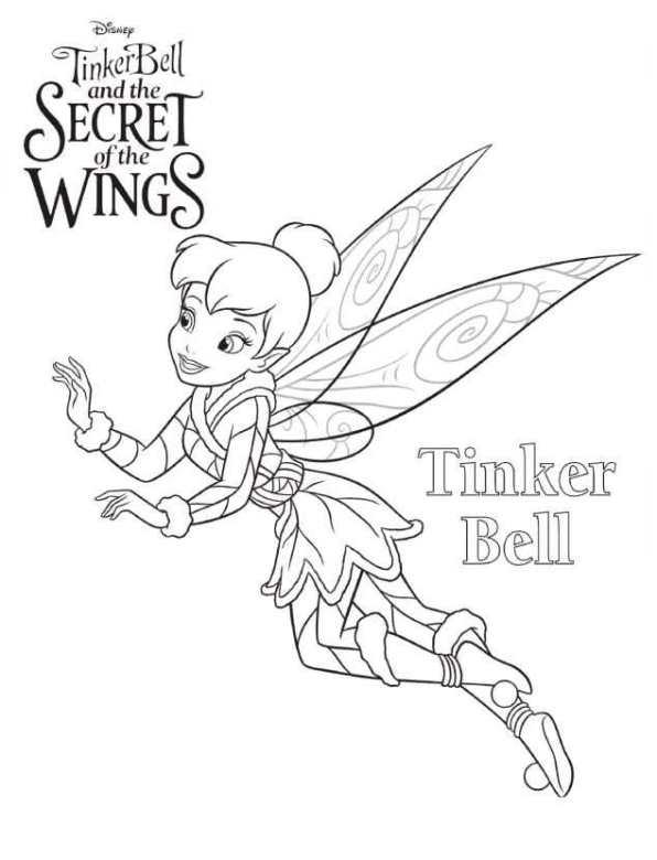 Alle Kleurplaten Van Tinkerbell.Kleurplaten En Zo Kleurplaten Van Tinkerbell Secret Of The Wings