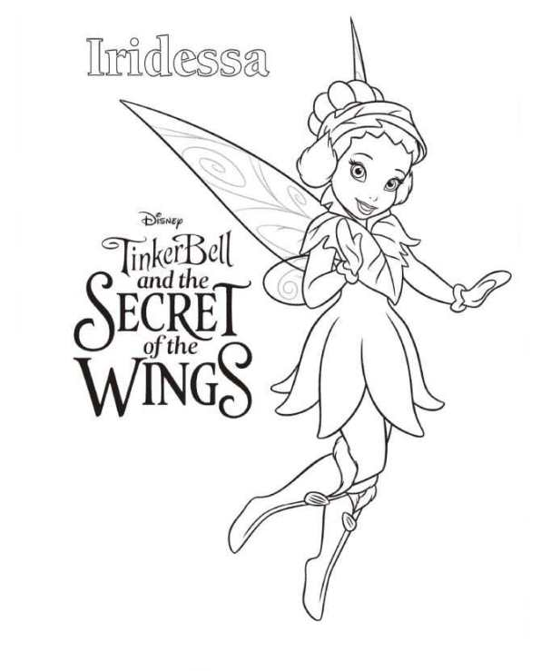 Kleurplaten Van Tinkerbell.Kleurplaten En Zo Kleurplaat Van Tinkerbell Secret Of The Wings