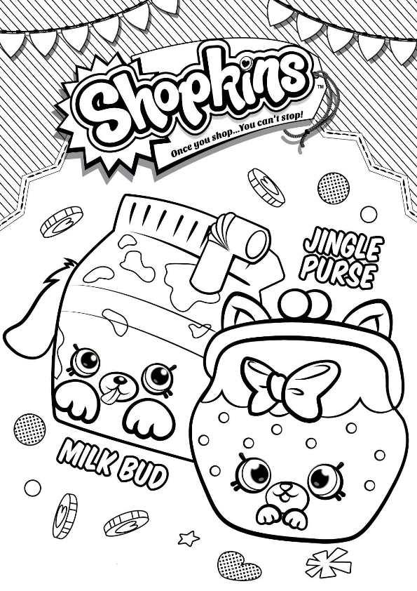 Kleurplaten En Zo Kleurplaat Van Milk Bud Jungle Purse