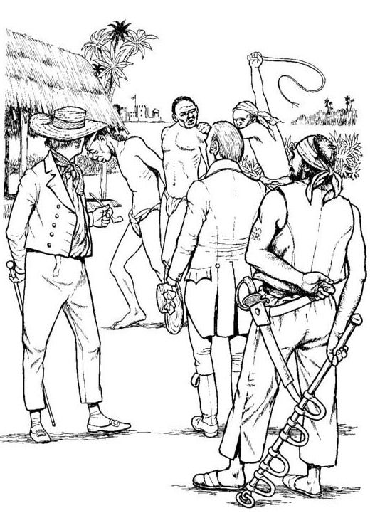 slavery coloring pages printable - photo#9