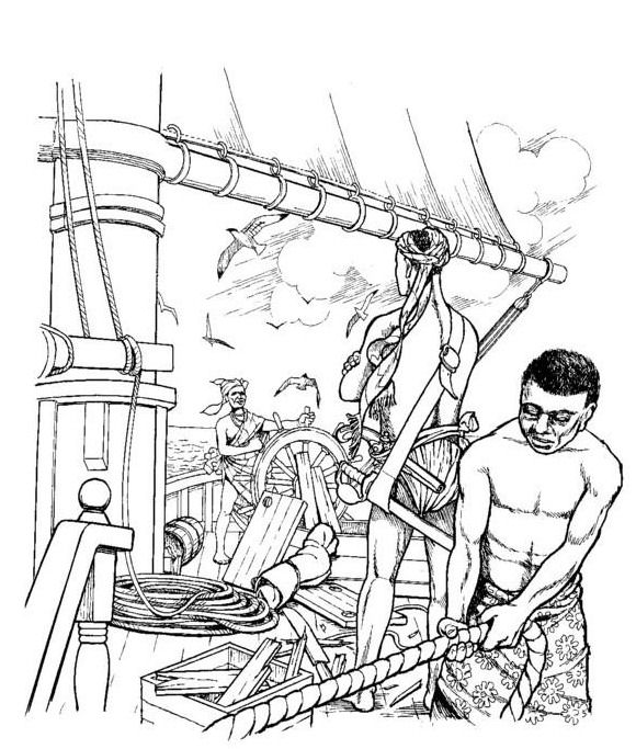 slavery coloring pages - photo#9