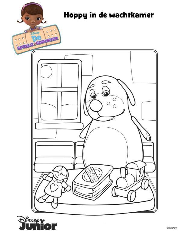 Kleurplaten Speelgoed Dokter.Kleurplaten En Zo Kleurplaat Van Speelgoeddokter