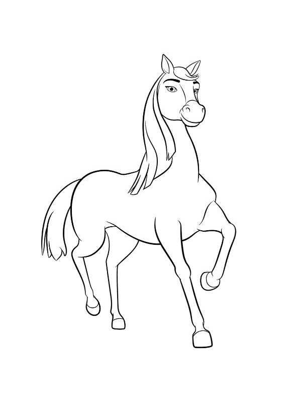 lucky paard kleurplaat malvorlage lucky luke ausmalbild