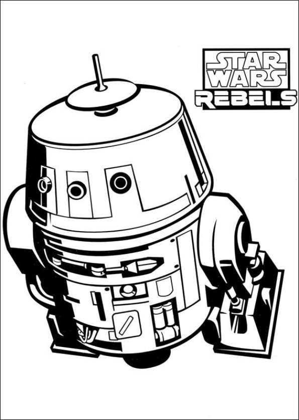 Print Star Wars Rebels kleurplaat