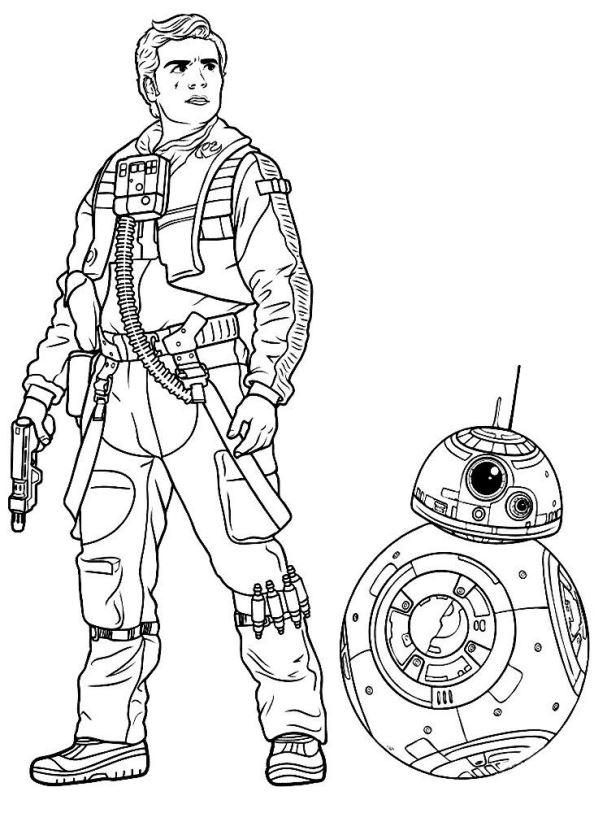 Kleurplaten En Zo 187 Kleurplaat Van Star Wars The Force Awakens