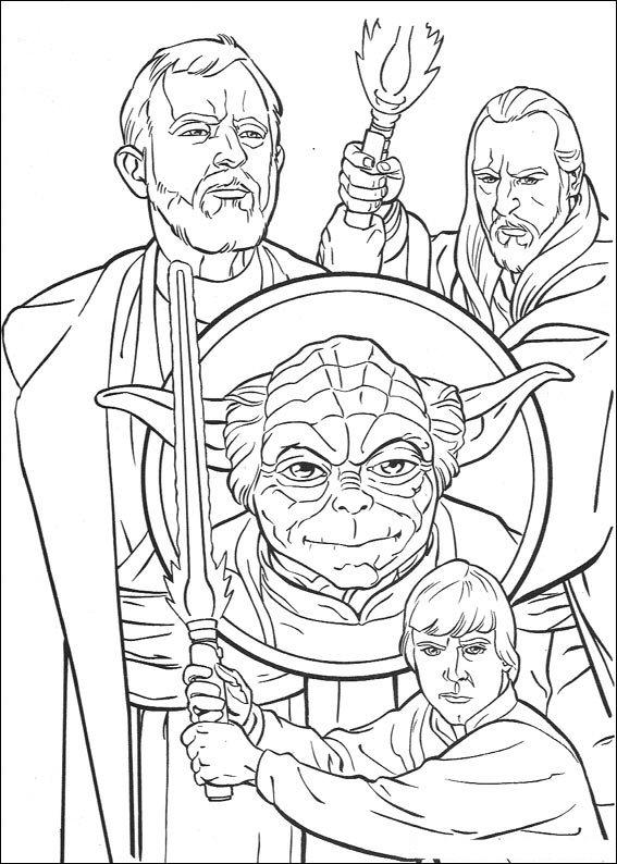 Kleurplaten Star Wars Clone Wars.Kleurplaten En Zo Kleurplaten Van Star Wars