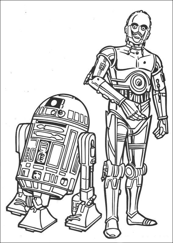 Kleurplaten En Zo Kleurplaat Van Star Wars