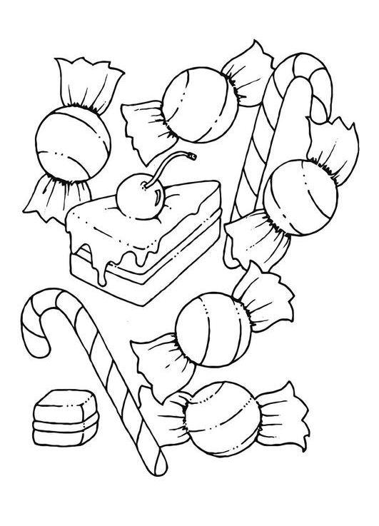 Snoep Sinterklaas Kleurplaat Kleurplaten En Zo 187 Kleurplaat Van Snoep