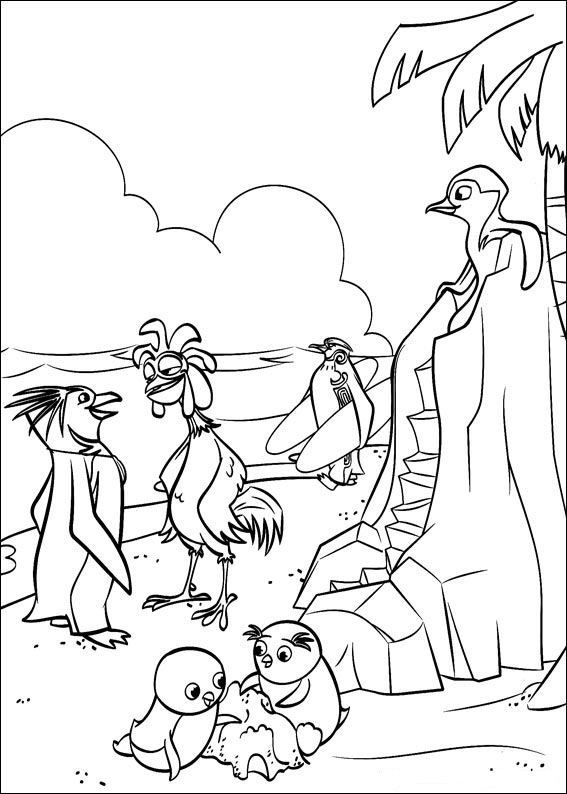free surfs up coloring pages - photo#15