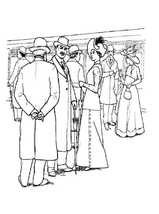 jack and rose coloring pages - photo#11