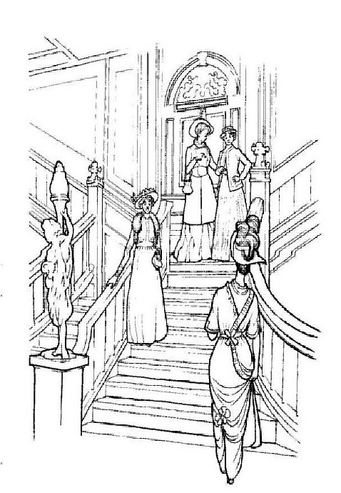 jack and rose coloring pages - photo#23