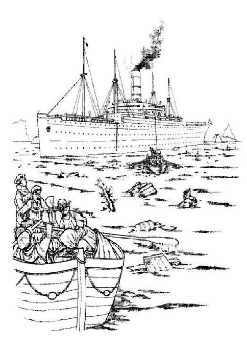 Kleurplaten En Zo 187 Kleurplaten Van Titanic