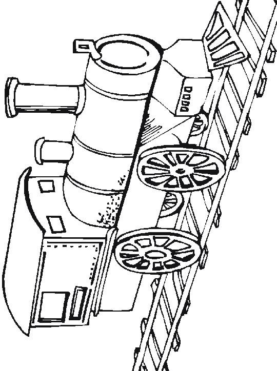 Kleurplaten Trein Met Wagon.Kleurplaten En Zo Kleurplaten Van Treinen