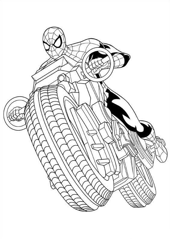 Ultimate Spiderman Venom Coloring Pages information keywords and