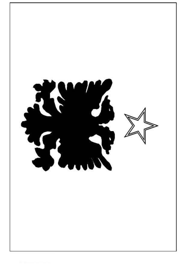 kleurplaten en zo 187 kleurplaat vlag albani 235